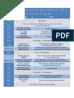 CREPEC 2010preliminary Program