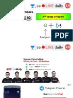 [L10] -  (JEE 2.0) - Complex Numbers - 5th Nov (2).pdf