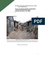 Report CBPHC Urban Health Workshop