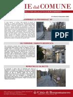 Notizie Dal Comune di Borgomanero del 21-11-2020