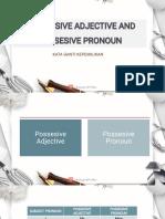 Possesive Adjective and Possesive Pronoun