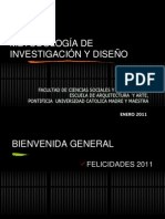 Objetivos Metodo de Investigacion y Diseno