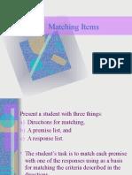 Assessment- Matching Items.pptx