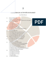 06- PLANIFIER LES ACTIVITÉS DE BASKET (1 de 2)