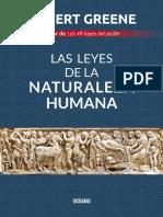 Las leyes de la naturaleza humana - Robert Greene