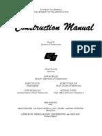 [CALTRANS] Construction Manual (929 pags)