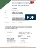 Informe Tecnico N°004 del Espe. Costos y Presupuestos - Justifiacación de atrazo
