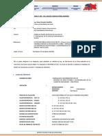 Informe Tecnico N°003 del Especialista en Estructuras