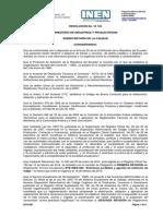 Rte Inen 006-2r - Extintores Portátiles y Agentes de Extinción de Fuego