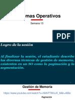 Sistemas Operativos - GestionMemoria