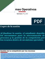 Sistemas Operativos - SincronizacionProcesos