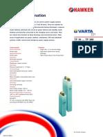 Baterias Varta TP Product Guide