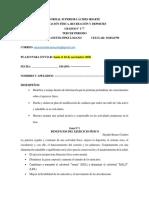 GUIAS EDUCACIÓN FÍSICA  6° Y 7°