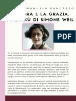 L'ombra e la grazia. I metaxù di Simone Weil – Maria Emanuela Randazzo