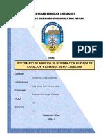 RAMOS SOSA ANGIE STEFANIE TAREA DE ANTICIPO DE LEGITIMA CON DISPENSA DE COLACION Y EJEMPLOS DE NO COLICION.pdf