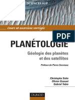 planétologie géologie des planetes et satélites.pdf