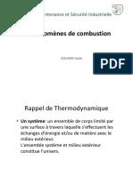 Phénomène de combustion