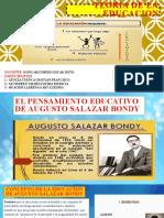 Teoría de La Educación Augusto Salazar Bondy