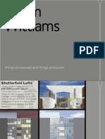 Adam Williams selection of work