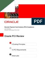 PCI Presentation by Carl Terrantroy