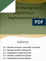 10. Procesul decizional