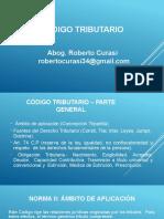 CODIGO TRIBUTARIO - ABG. ROBERTO CURASI - AGOSTO