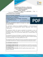 10-Guía para el desarrollo del componente práctico y rúbrica de evaluación - Unidad 1 y 2 - Fase 4 - Práctica In Situ