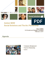 Social Solutions Webinar with Autism NOW Center February 8, 2011