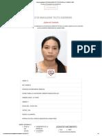 Conoce al candidato FELICITA MADALEINE TOCTO GUERRERO por CAJAMARCA 2020