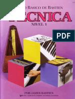 Piano Basico BASTIEN Nivel 1 TECNICA