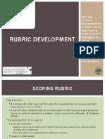 rubric_development