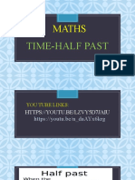TIME - HALF PAST (1)