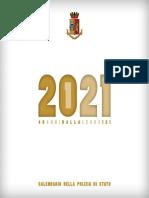 calendario polizia 2021