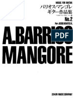AGUSTÍN BARRIOS - MANGORÉ - Music for guitar Vol º 2
