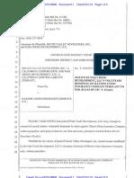 SOUTH VALLEY DEVELOPERS, INC. v. ILLINOIS UNION INSURANCE COMPANY et al Notice of Voluntary Dismissal