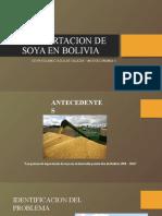 LA EXPORTACION DE SOYA EN BOLIVIA- ROLO
