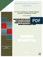 1 Memoria Descriptiva