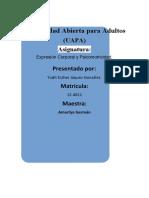 TAREA 1 DE EXPRESION CORPORAL Y PSI.