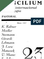 Concilium 023 marzo 1967