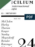 Concilium 024 abril 1967
