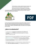 tarea urbanizacion