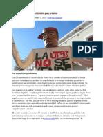 02-02-11 - Estudiantes de la UPR se las inventan para protestar