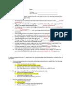 answerstoquiz3fall2009 macroeconomics