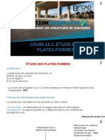 Cours 15.1.étude des plate-forme