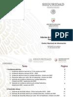 Informe Incidencia Delictiva Fuero Común Octubre 2020