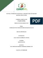 BDD - Comparacion de 3 motores de base de datos