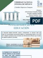 1.3 Finalidades de la Educación, 1.3.1 Los 4 Pilares de la Educación