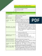 Ficha Tecnica -  Medio de Control Nulidad simple