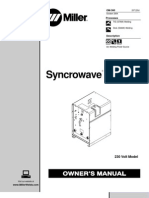 Syncrowave 180 SD Manual
