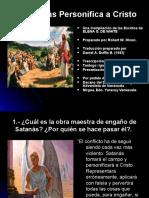 9- SATANAS PERSONIFICA A CRISTO